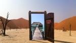 Open door to oasis