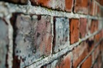 Image of brick wall meant to represent messages from God to my heart that build his Kingdom in my life