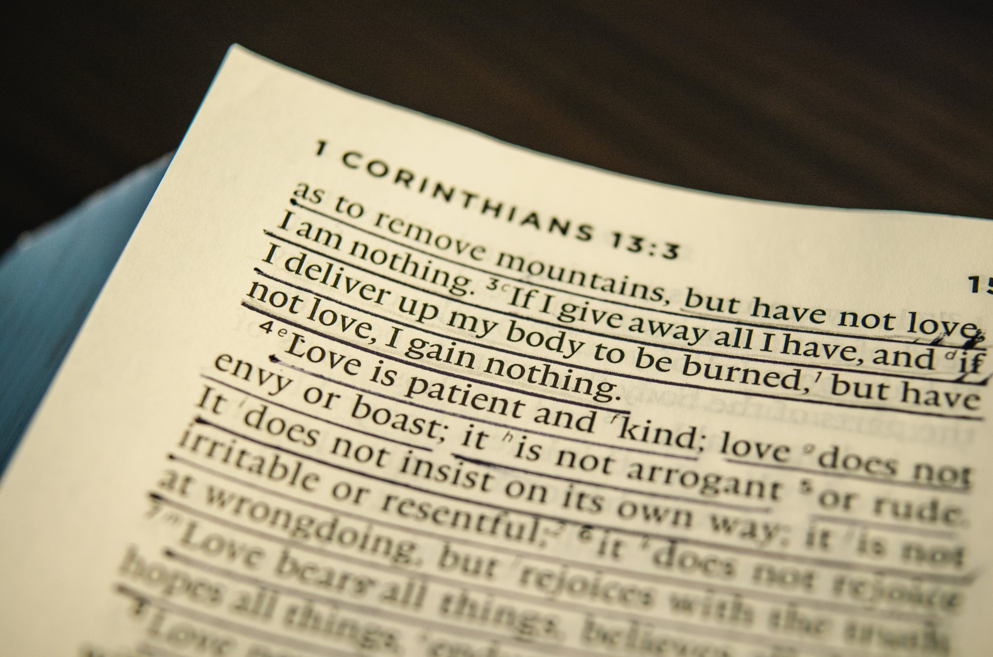 Image of 1 Corinthians 13 love verses