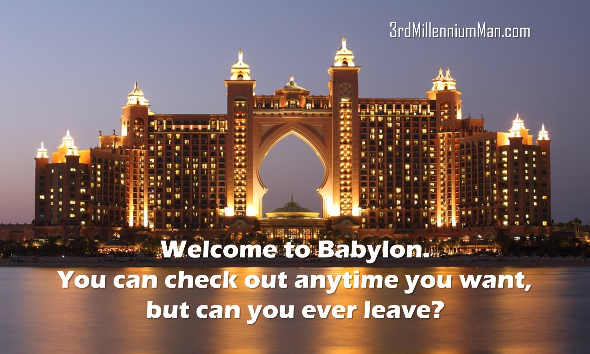 Hotel image to symbolize Babylon