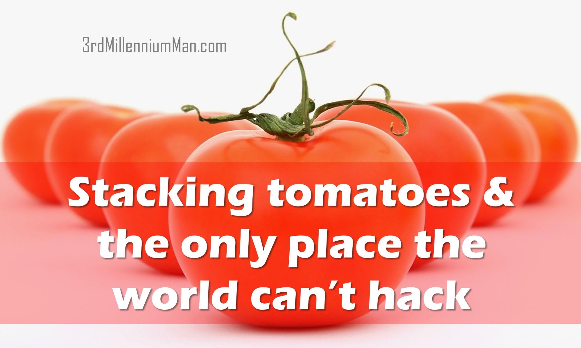 title text with image of fresh red tomatoes