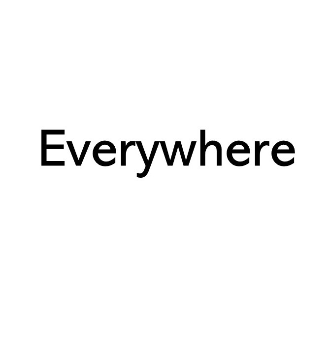 image of title saying everywhere